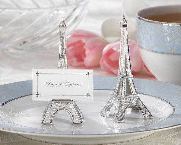 48 48 48 Eiffel Tower Paris Wedding Place Card Holders Favors b9a308