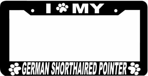 GERMAN SHORTHAIRED POINTER paw License Plate Frame