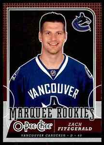 2008-09-O-Pee-Chee-Marquee-Rookies-Zach-Fitzgerald-Rookie-503