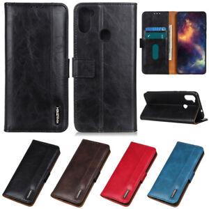 Retro Wallet Leather Flip Cover Case For Motorola Moto G9 Play G50 G10 G30 G100