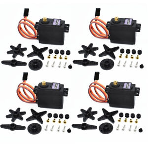 4PCS-MG996R-Metal-Gear-MG995-Digital-Torque-Servo-For-Futaba-JR-RC-Truck-Racing