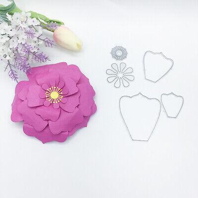 Cutting Dies Basteln Blume 3D Stanzschablone Präge Stencil Geschenk DIY Hochzeit