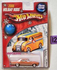 Hot-Wheels-2006-Holiday-Rods-039-65-Pontiac-Gto-Edizione-Limitata-Bronzo-W