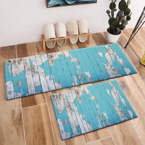 Rustic-Blue-Painted-Old-Wood-Planks-Texture-Area-Rugs-Door-Living-Room-Floor-Mat