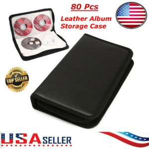Disc-CD-DVD-Organizer-Holder-Storage-Case-Bag-Wallet-Album-Media-Video-80-Pcs