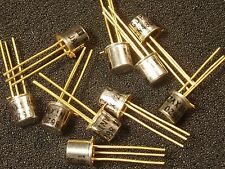 Qty 10: Prime Quality 2N4861 Mil Spec JFET JTXV2N4861 Gold Leads NOS Xlnt! FET