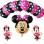 Disney-Mickey-Minnie-Mouse-Birthday-Balloons-Baby-Shower-Gender-Reveal-Pink-Blue thumbnail 5