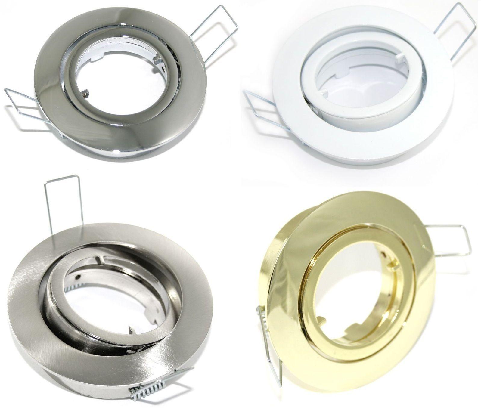 12V Einbaustrahler Bajo ohne Leuchtmittel   New Style    Vielfalt    Mangelware
