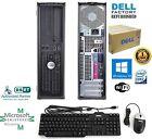 FAST DELL OptiPlex  PC COMPUTER DESKTOP 3.00GHz 4GB RAM 750GB HD WINDOW 10 PRO
