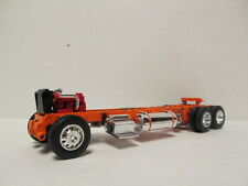 DCP 1/64 SCALE 389 PETERBILT CHASSIS ORANGE FRAME (AS SEEN IN PICTURES)