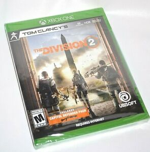 TOM CLANCY'S THE DIVISION 2 CAPITOL DEFENDER PACK XBOX ONE HDR MATURE VIDEO GAME