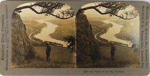 UK Scozia Valley Of Il Tay, Foto Stereo Vintage Analogica PL60L10