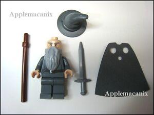 LEGO GANDALF minifigure figure 79010 the HOBBIT Goblin King Battle