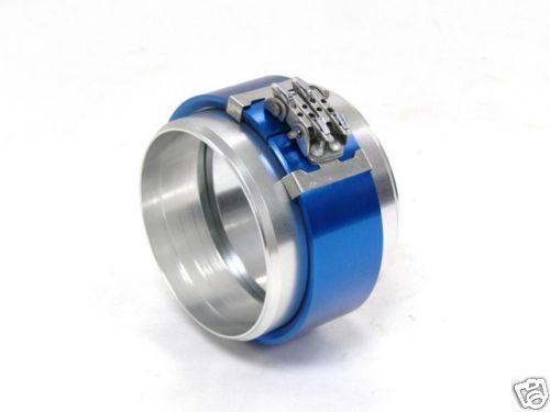 "ALUMINUM PEGASUS CLAMSHELL CLAMP 3.5/"" ID Blue Universal"