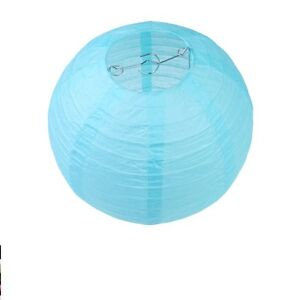 Image Is Loading 8 039 Hanging Chinese Paper Light Blue