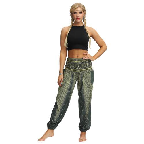 Thai Womens Harem Yoga Pants Festival Baggy Hippie Boho Alibaba Hareem Trousers