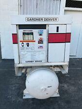 Gardner Denver 15 Hp Rotary Screw Air Compressor Ingersoll Rand Kaeser Quincy