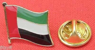 United Arab Emirates Country Flag Lapel Tie Pin Badge Brooch UAE دولة الإمارات