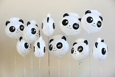 10pk Panda Foil Balloon Holiday Party Decoration Christmas Birthday Halloween