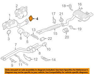 bmw oem 12 13 128i exhaust manifold gasket 18107549447 ebay rh ebay com 2010 BMW 128I Specs BMW 128I Engine Part