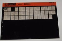 Ersatzteilkatalog Microfich Parts Catalog Mariner Outboards K15 - A2 Juni 1996
