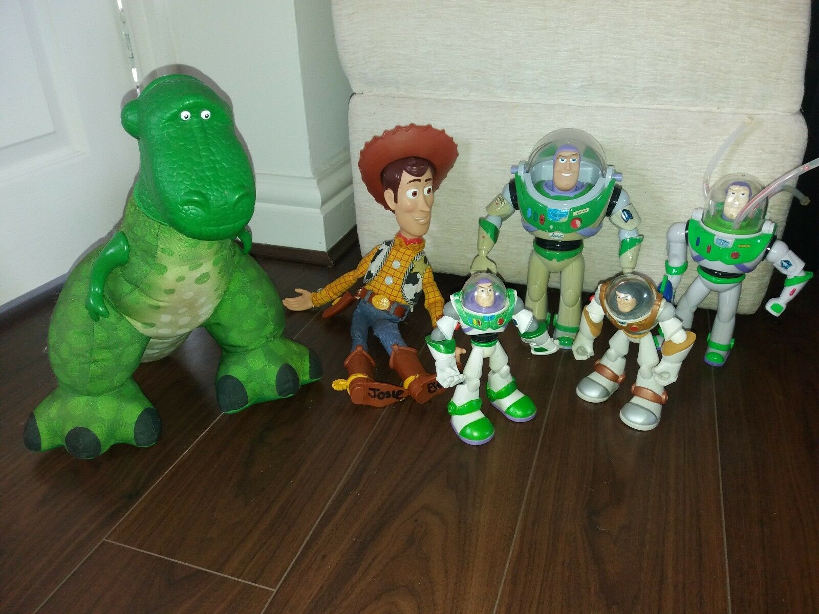 Toy Story - Buzz Lightyear woody road road road 6 in total bundle 1319cd