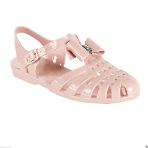 73821962759103 Details about NEW JELLY SHOES LADIES WOMENS GIRLS BEACH RETRO SUMMER FLIP  FLOPS SANDALS SIZE