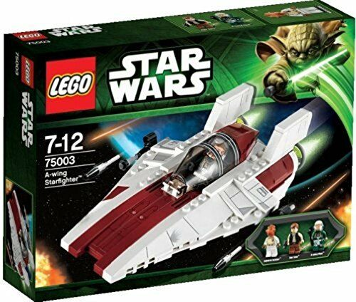LEGO? Star WarsTM Return of the Jedi A-Wing Starfighter w/ 3 Minifigures | 75003
