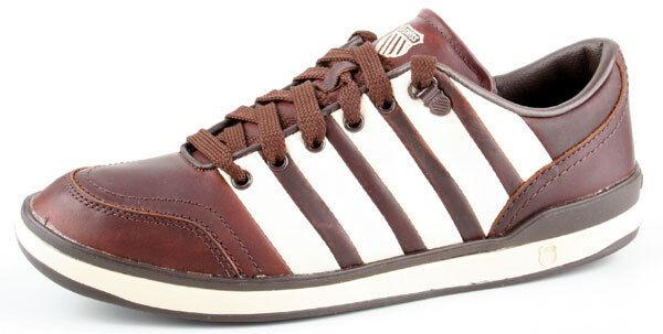 K-swiss chaussures grande court 02300295 Chocolate blanc