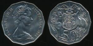 Australia-1984-Fifty-Cents-50c-Elizabeth-II-Uncirculated