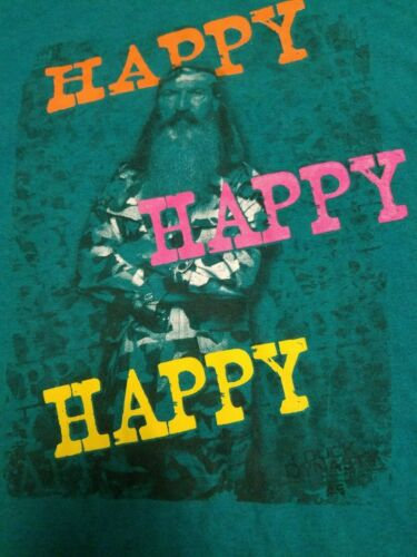 HAPPY, HAPPY, HAPPY Tee Shirt, Heavy 6.0 oz 100% C