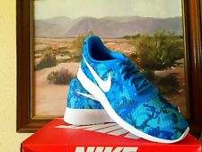 Nike Tanjun Print Men's Shoes-Photo Blue New with Box Size 11