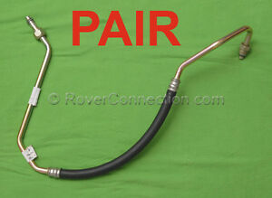 LAND ROVER DISCOVERY RANGE ROVER CLASSIC DEFENDER OIL COOLER HOSE PIPE SET NEW