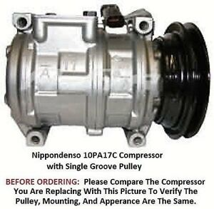 Details about Dodge Plymouth Chrysler OEM Denso 10PA17C AC Compressor  Single Groove Pulley