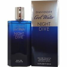 COOL WATER NIGHT DIVE Davidoff Men 4.2 oz edt NEW IN BOX