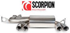 SCORPION M3 E46 STAINLESS STEEL BACK BOX Scarico Posteriore Silenziatore Quad (01-06)