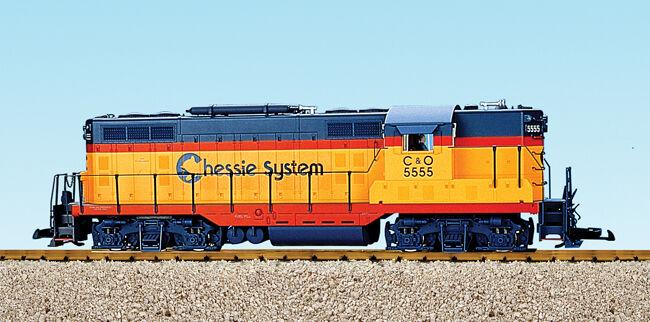 USA Trains 22105 G Scale GP7 Diesel Chessie NEW RELEASE