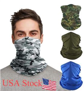 6Pcs Mission Cooling Neck Gaiter Face Mask UPF 50 Cools when Wet