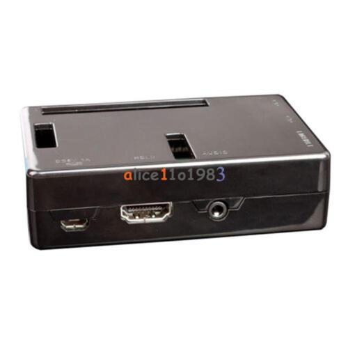 Premium ABS V2 Black Case Boxes Raspberry Pi 2 B Case Cover Enclosure Box ABS V2