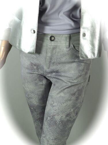 imprimé Jeans serpent 38 40 42 36 44 Stretch Pantalons 34 Nouveau Marccain avec xIApEXqHpw