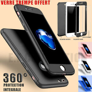COQUE-ETUI-360-IPHONE-6-7-8-5-XR-XS-MAX-11-12-PRO-PROTECTION-VITRE-VERRE-TREMPE