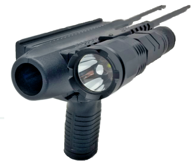Tactical LED Flashlight 1000 Lumen for 12 gauge maverick 88 pump