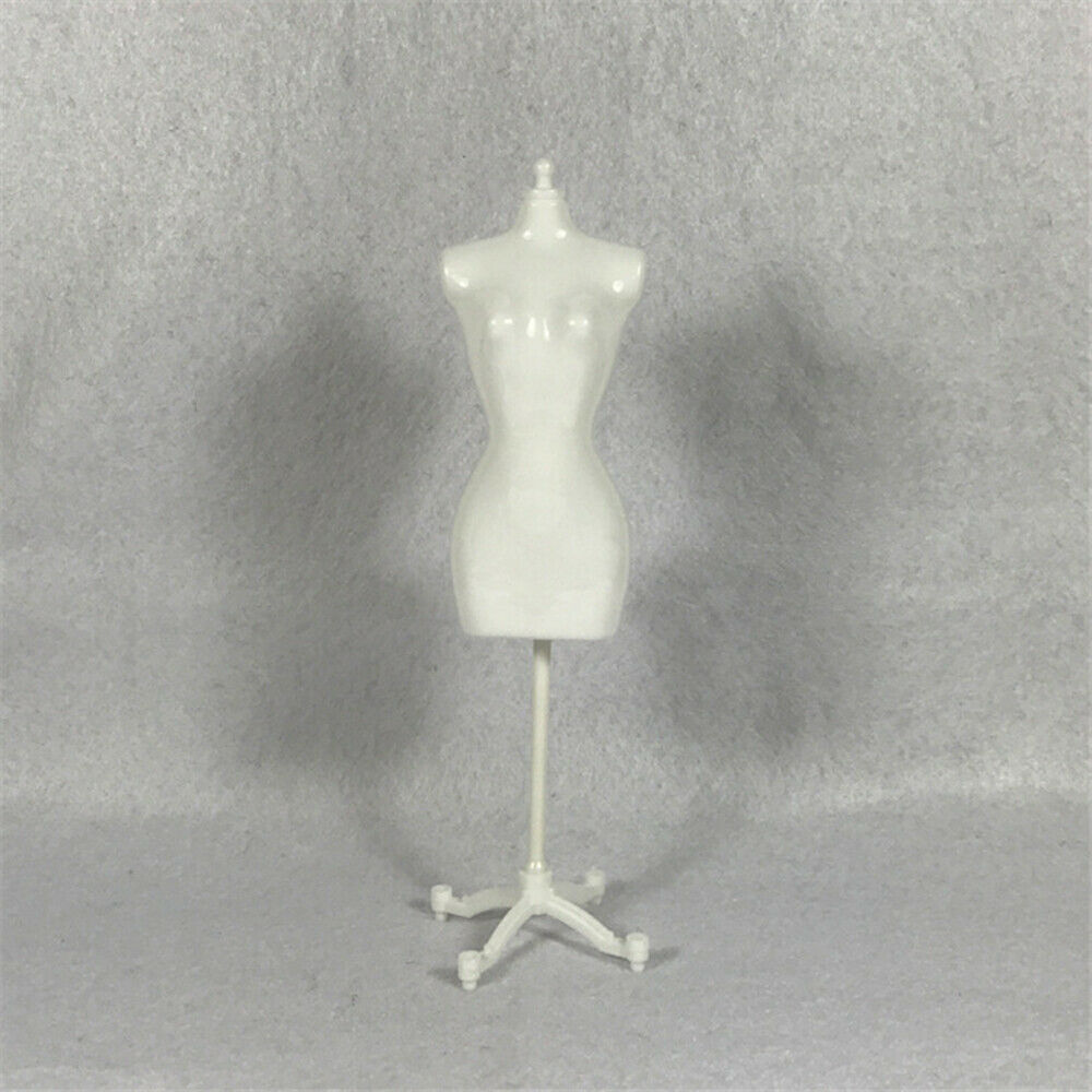 Doll Display Holder Dress Clothes Mannequin Model Stand For Doll-Black D2O9