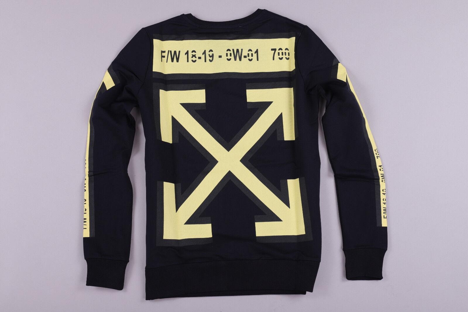 New Off-White Dark bluee Women'S  Sweater Size S