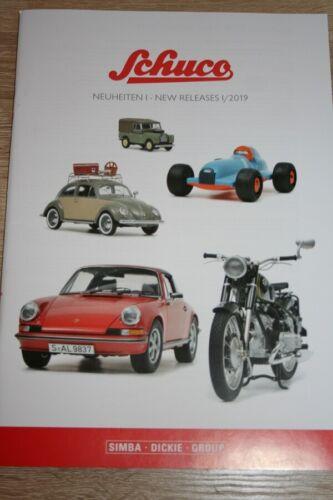 Katalog Schuco Neuheiten I 2019 A4-68 Seiten Neu