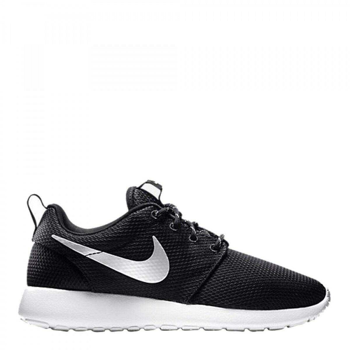 Nike Women's ROSHE ONE Shoes NEW AUTHENTIC Black/Platinum/White 511882-094