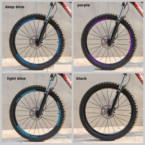 Wheel Sticker Set for E.Thirteen E13 Mountain Bike Bicycle Rim Reflective MTB