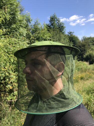 Beatons Midge Head Net Hat Mosquito Insect Bug