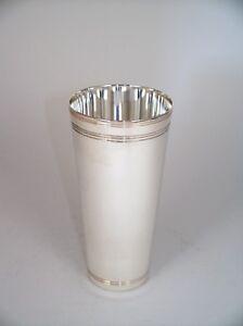 Sektglas Sektgläser gestempelt neu Silber VERSILBERTER SEKTKELCH H 11 cm dt