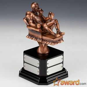 Armchair Fantasy Football Trophy Perpetual 8 Years Free